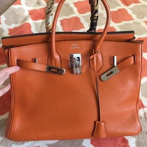 Handbags - Birkin style bag